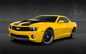 2010 chevy camaro yellow hd desktop wallpaper widescreen