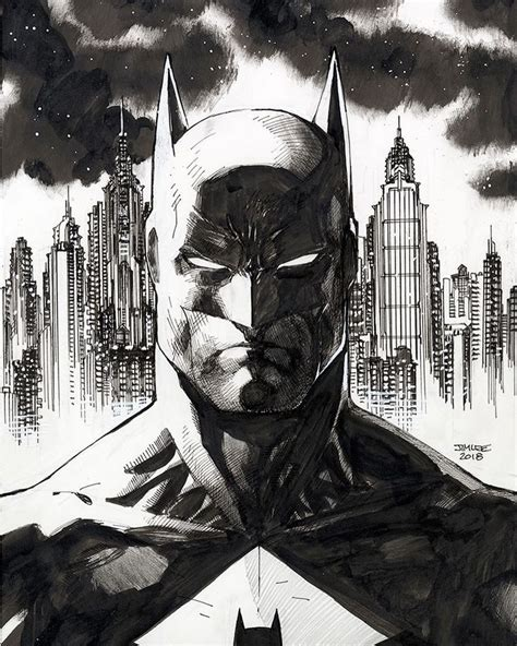 batman  jim lee batman batman drawing batman comic