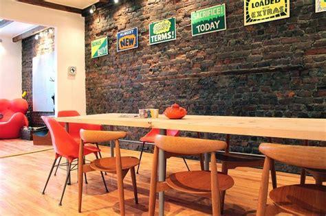 Idee Deco Mur Salle A Manger by D 233 Co Salle 224 Manger Avec Mur Brique 50 Id 233 Es Originales