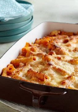 creamy baked ziti creamy is the key word here as sour