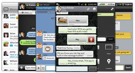 message apps for android top 25 android free messaging apps for 2014 handpicked