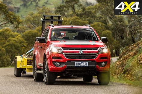 colorado diesel towing 4x4 load and tow test comparison 2017 holden colorado review