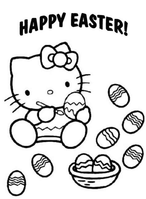 coloring pages hello easter easter eggs coloring page coloring home