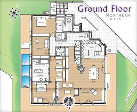 Open Kitchen Floor Plans Pictures by Northern Lights A New Chalet Amp Apartments For Sale In