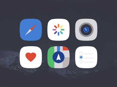 new themes winterboard ios 8 minimal ios 8 winterboard theme by colby fayock dribbble