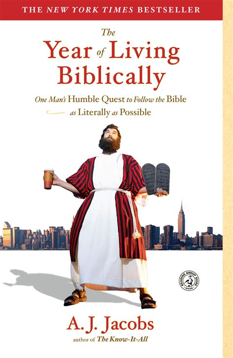 Pdf Year Living Biblically Literally Possible by The Year Of Living Biblically Book By A J
