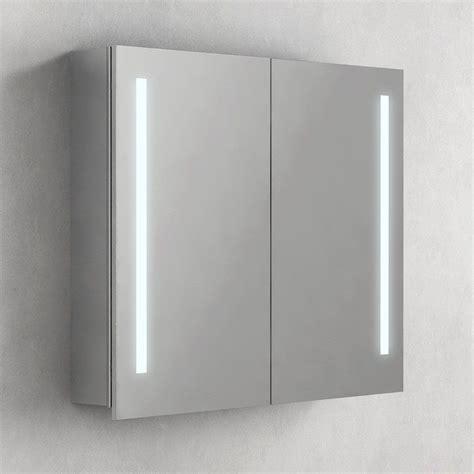 Armoire De Toilette 80 Cm armoire de toilette 233 clairante glass 80 cm