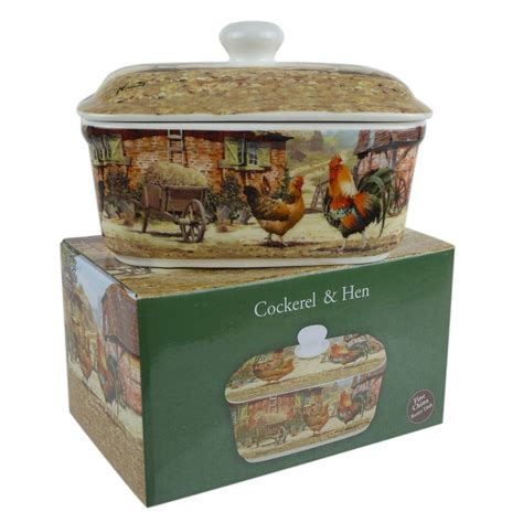 lesser and pavey leonardo collection country butter dish in various designs ebay