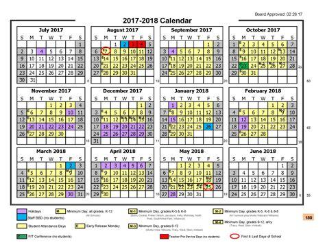 Wcpss Calendar Wcpss Traditional Calendar 2017 18 Pdf