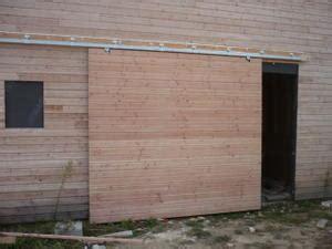 fabriquer une porte de garage awesome porte coulissante