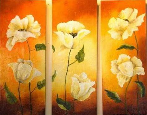 cuadros al oleo de flores modernos cuadros modernos pinturas y dibujos cuadros de flores