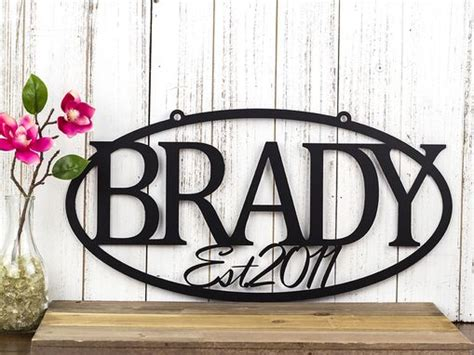 buy  hand crafted custom metal sign   sign