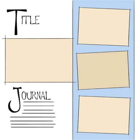 free digital scrapbooking layout ideas
