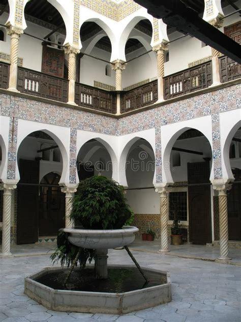 Patio Alger by Inner Architecture Of Algerian Kasbah Villa Stock Photo