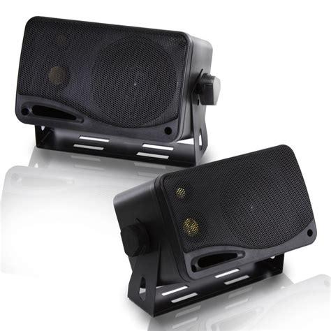 Speaker Mini Box pyramid 2022sx 200 watts 3 way mini box speaker system
