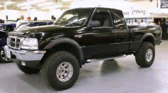 lifted 1999 ford ranger 4x4 truck