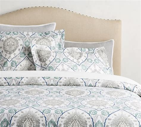 pottery barn linen sheets review noreen print duvet cover sham pottery barn