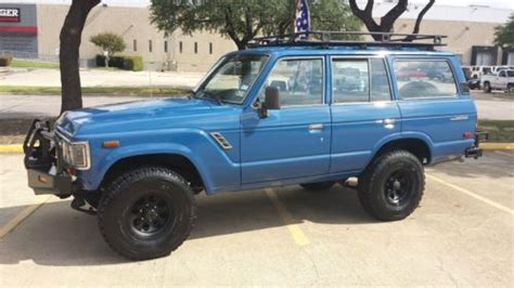 1988 Toyota Land Cruiser For Sale Find Used 1988 Toyota Land Cruiser Fj62 Adventure Rack