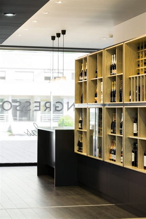 wine store design wine store design in portugal stylishly exhibiting over a thousand different beverages modern
