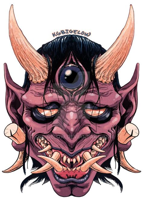japanese devil tattoo designs 1000 ideas about oni mask on japanese oni