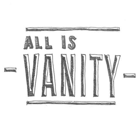 all is vanity communionchurch