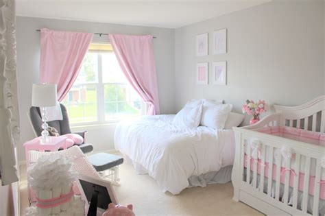 Gray And Pink Nursery Decor Pink Grey Nursery Project Nursery