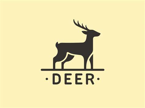 logo deer deer logo by alberto bernabe dribbble