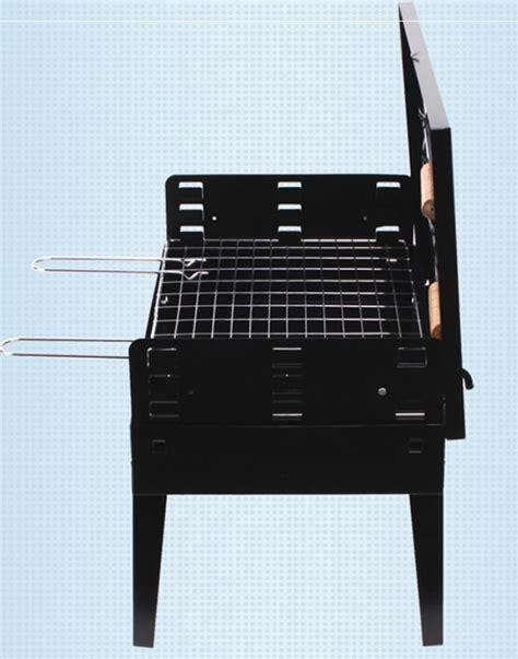 Alat Panggang Barbeque alat panggang arang bbq grill stove foldable black jakartanotebook