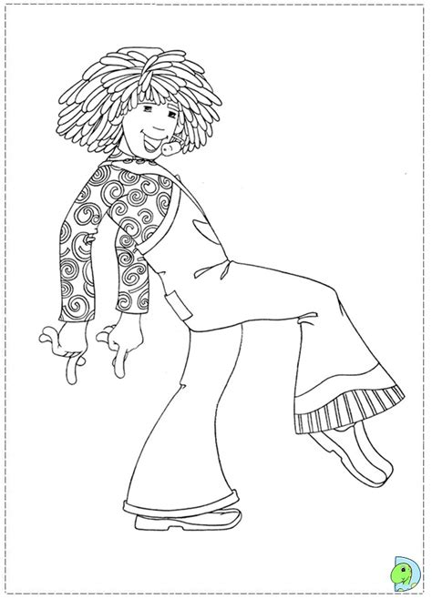 doodlebops free coloring pages
