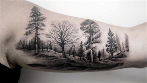black and grey landscape tattoos 55 magnificent tree tattoo designs and ideas tattooblend