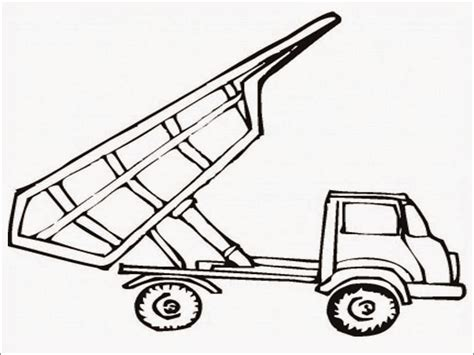 dump truck coloring page preschool dump truck coloring pages printable realistic coloring pages