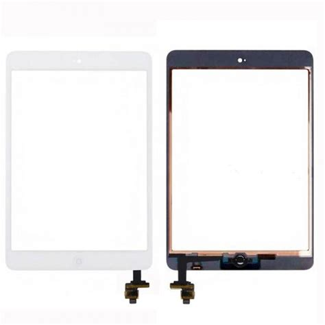 Touchscreen Aple Mini 1 touch screen display home button ic chip f 252 r apple