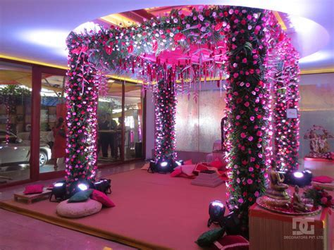Wedding Decoration   Mandap Indoor