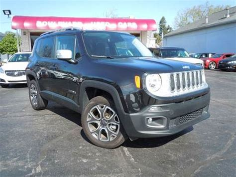 used jeep grand for sale in michigan used 2016 jeep renegade for sale michigan carsforsale