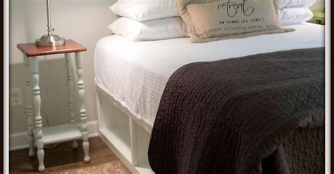 Pottery Barn Storage Bed by Pottery Barn Knockoff Storage Bed Hometalk