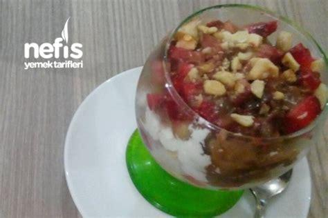 ksr tarifi elif nefis yemek tarifleri meyveli puding tarifi elif şenol nefis yemek tarifleri