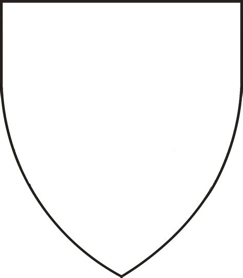 free coloring pages of hearldy shields for