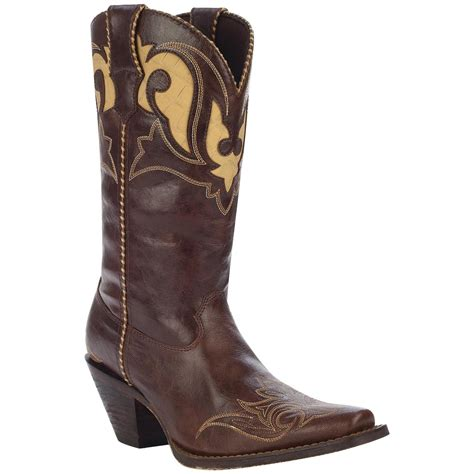western boots for s crush by durango 174 12 quot peek a boot western boots