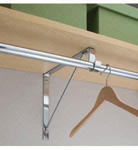 closet rod and shelf support bracket 12 for two reliable