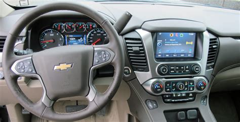 Chevy Suburban 2015 Interior by 2015 Chevrolet Suburban Lt 4wd Review Wheels Ca