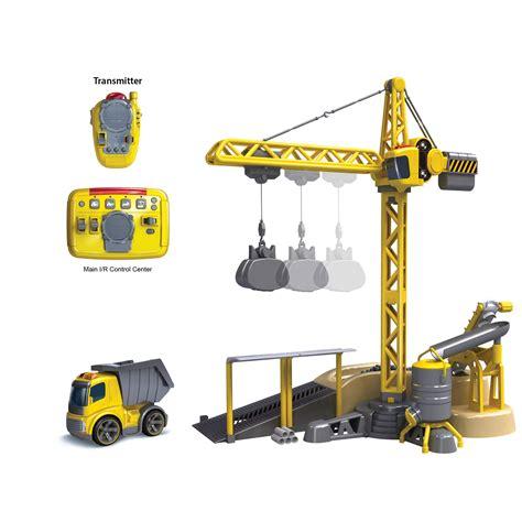 Ibuilder Deluxe Station Set i r crane deluxe set silverlit