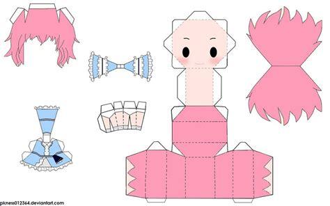 Touhou Papercraft - yuyuko saigyouji papercraft by pkness012364 d4 by cakoozie