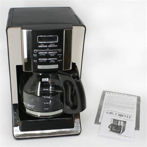 Mr Coffee Coffee Maker 12 cup Programmable   Jeffs Reviews