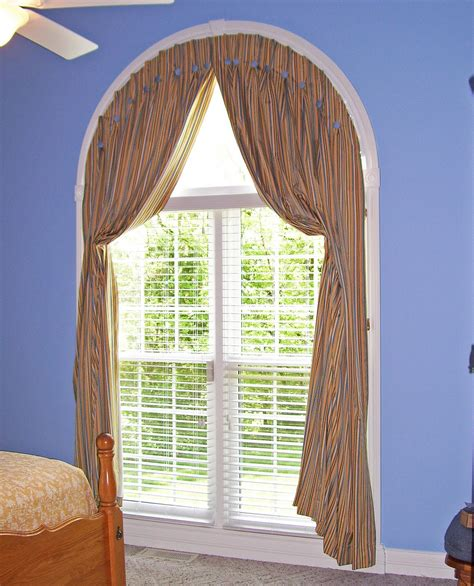 curtains for arch window window treatments for arched windows decofurnish