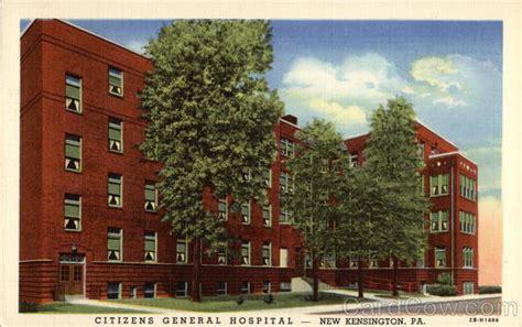citizens general hospital new kensington pa