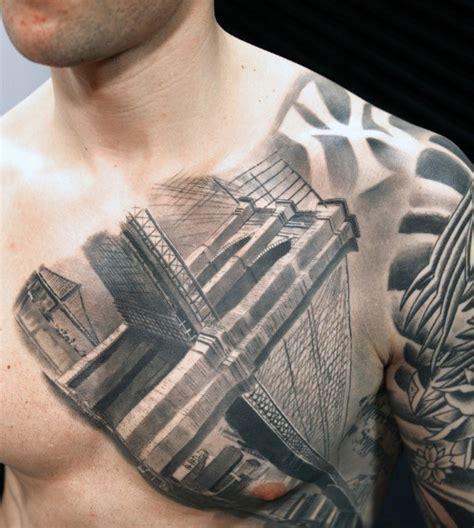 3d tattoos nyc 60 bridge tattoos for new york city design