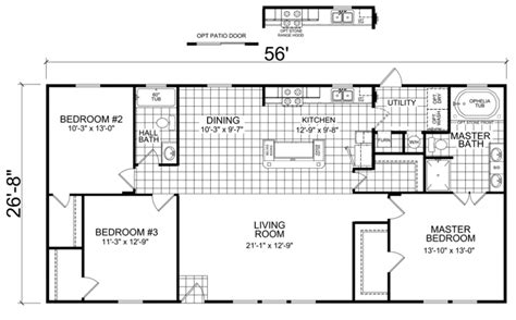 home floor plans models falco 28 x 56 1493 sqft mobile home factory expo home