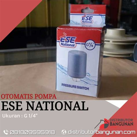 Pompa National otomatis pompa national ese 1 4 distributor pipa pvc