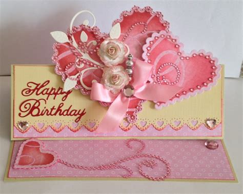 how to make a special birthday card special birthday card paper blossoms