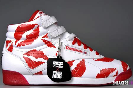 Married To The Mob Releases 2008 T Shirts by Married To The Mob X Colette X Reebok Sneakerfiles